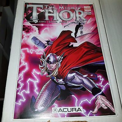 Mighty Thor #1 (2011), Very Hard to Find Acura, Con Giveaway Variant Cover