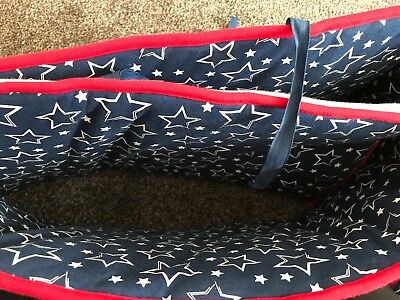 'By Carla' Stars Padded Soft Cot Bumper