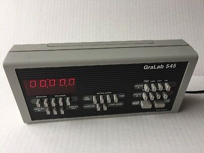 GraLab 545 Professional Photography Digital Darkroom Timer Dimco-Gray Co USA