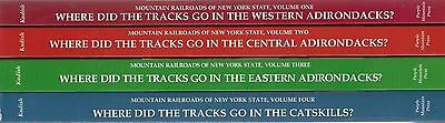 MOUNTAIN RAILROADS of NEW YORK STATE series: (4  NEW BOOKS -- Special 15% off)