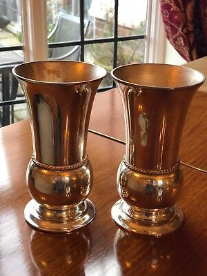 Church Priests Pair Of Vases - Left In Rectory