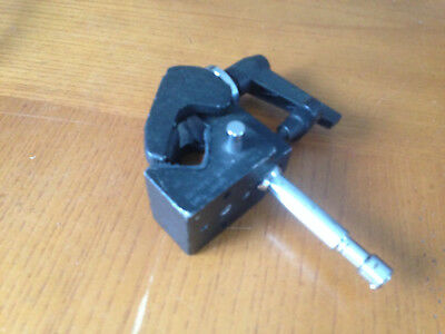"""Matthews Super Mafer Clamp with 5/8"""" Pin - Black"""