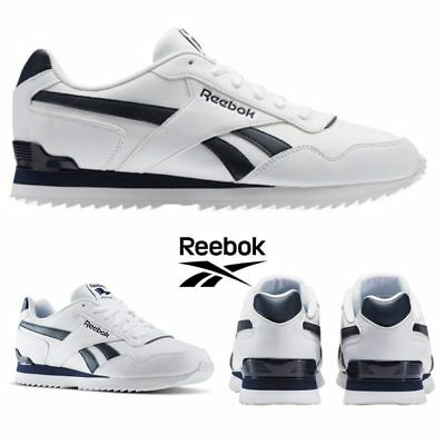 f67a7593af4eac Reebok Classic Royal Glide Ripple Clip Shoes Sneakers White BD5321 SZ 4-12.5