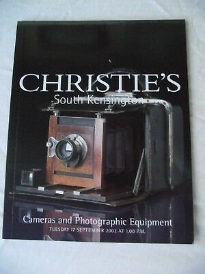 Christie's Camera catalogue September 2002 good condition