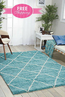 Area Rug Carpet Living Room Bedroom Girls Rectangle Nourison 5 X 7