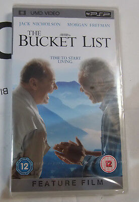 The Bucket List   (New and Sealed) Sony PSP UMD Video Movie