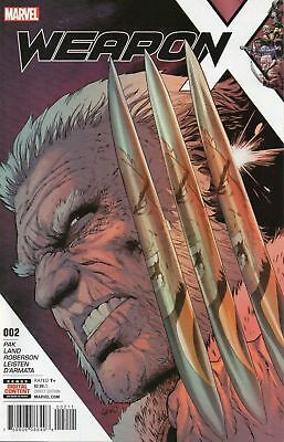 WEAPON X ISSUE 2 - FIRST 1st PRINT MARVEL COMICS - GREG PAK & GREG LAND