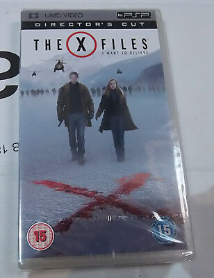 The X-Files I Want to Believe (New and Sealed) Sony PSP UMD Video Movie