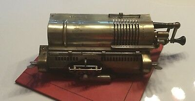 Odnher Clone Vintage Mechanical Calculator 30s To 50s
