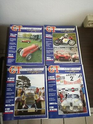 GT GT and Competition RIVISTA 1987 primi 4 numbers auto storiche period