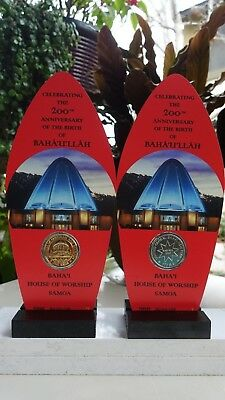 Baha'i Coin Collectible SAMOA House of Worship Display Limited Production