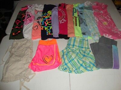 Lot Of Girls Size 10 Justice Brand Clothes Great For Spring Summer