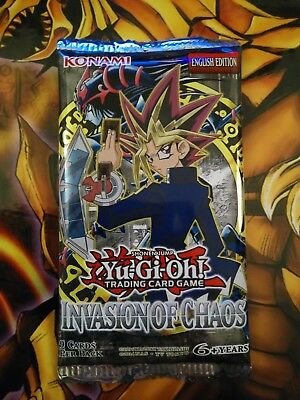 Yu-Gi-Oh! Booster Invasion of Chaos -IOC - English - OVP/SEALED