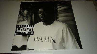 "Kendrick Lamar - Damn - Ltd Collectors Ed 12"" Clear Vinyl Lp & Mp3 Sealed!"