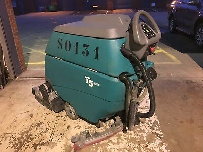 Tennant T5 Traction Driven, Battery Powered Floor Scrubber Drier