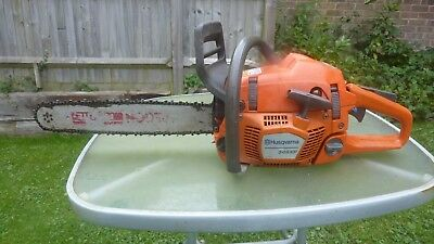 Husqvarna 346xp chainsaw 50cc version not the 45cc exellent 160 psi compression