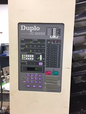 Duplo 10000S Collator, good working condition