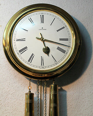 Old Wall Clock Chime Clock   Comtoise * JUNGHANS *made in Germany