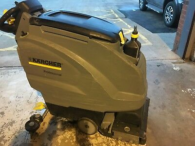 Karcher BR45/40 W Adv Dose Traction Driven, Battery Powered Scrubber Drier