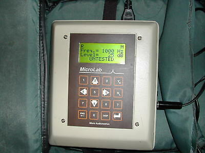 Calibrated Earscan Automatic Industrial Audiometer+Oscar IV , Compare!
