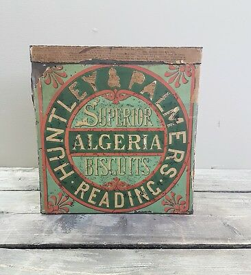 Huntley & Palmer Shopkeepers Biscuit Tin 1890 #1