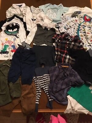 Large Baby Boys Bundle 3-6 Months Gap Next Ted Baker