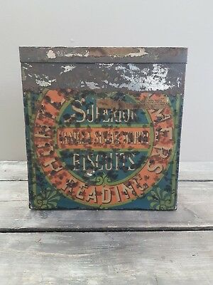 Huntley & Palmer Shopkeepers Biscuit Tin 1890 #3