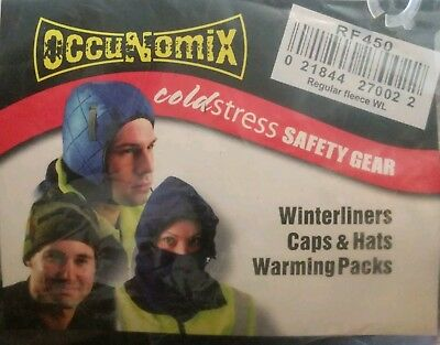 6 pack - Occunomix Fleece Winter Liner - RF450 w/ Hot Rod pockets for Hard Hats