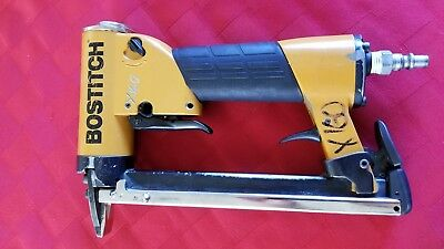 Bostitch TU216-Upholestry Stapler AIR Long Magazine Auto Fire (USED)