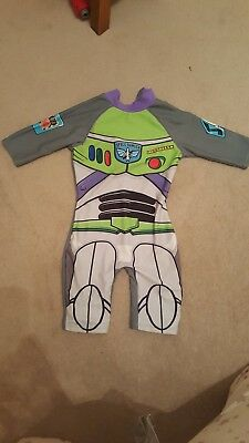 boys full cover, buzz lightyear, swimsuit 18-24 months