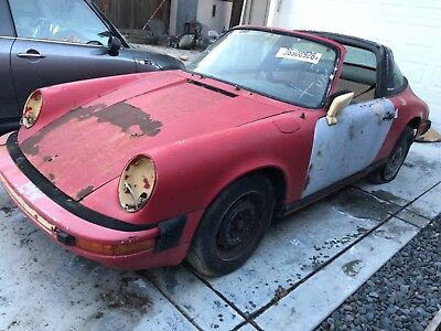 1974 Porsche 911 Targa 1974 Porsche 911 Targa, California Car - Rolling Chassis. Rust and Accident FREE