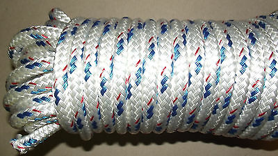 "NEW 1/2"" x 65' Sail/Halyard Line, Jibsheets, Boat Rope"
