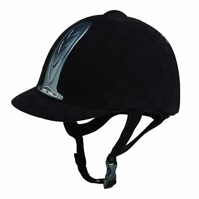 New ** Harry Hall ** Adults Legend Horse Riding Hat 7 1/8 (58Cm) Black Helmet