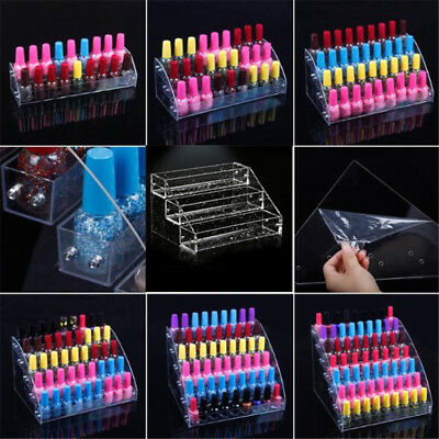 1 Pcs Display Rack Multi-layer Transparent Nail Polish Lipstick Acrylic Holder