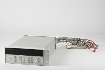 HP Agilent Keysight 34970A Data Acquisition Logger Switch Opt. 001 w/ 3x 34906A