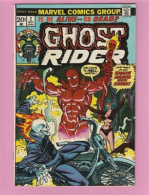 Ghost Rider #2 1st full appearance of SON OF SATAN!!!
