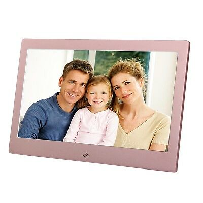 10 Inch Digital Photo Frame Metal Frame Electronic Picture Frame High Definit...