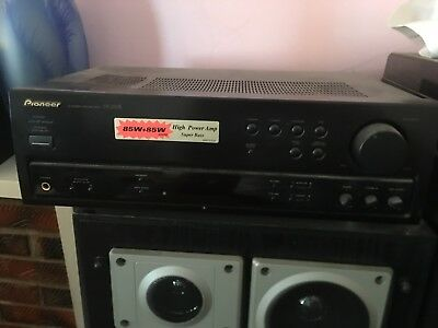 Pioneer SX-255R Stereo Receiver