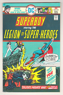 Superboy #210 - Dc (August 1975) - 5.0 Vg/fn Condition