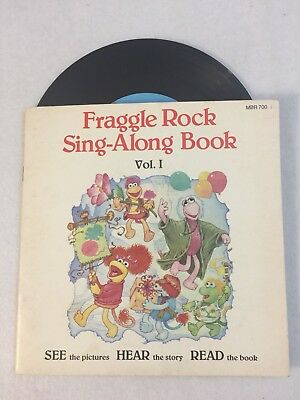 Fraggle Rock Sing-Along Book Vol 1 Record Picture