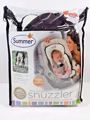 The Original Snuzzler Pad for Car seat Strollers Head and Body Support for Baby