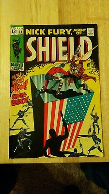 Nick Fury Agent of Shield # 13 (July 1969)