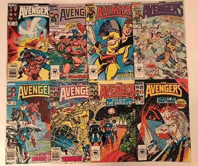 Large Lot Of Old Marvel Comics The Avengers