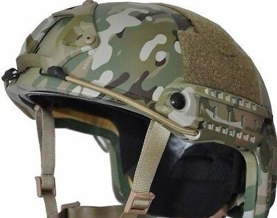 MULTI-CAM High Cut (Includes Team Wendy BOA)  LVL IIIA Ballistic KEVLAR  Helmet