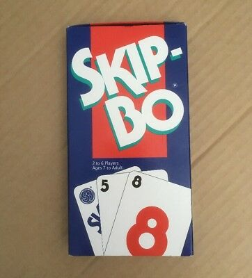 Vintage Skip-Bo Card Game - 1995 Edition - NEW (minor wear to box)