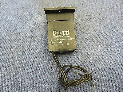Counter, Durant, # 4-Y-41314-401-MEQU, 12 volts DC coil