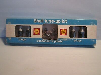 Shell Oil Co. Tune-Up Kit W/ Spark Plugs Mint  Nos