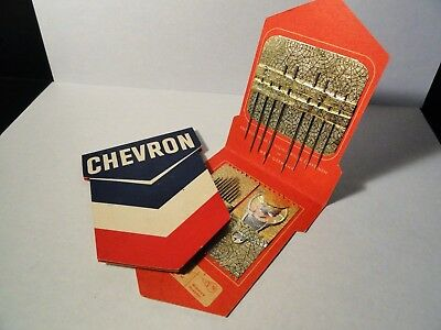 Vintage Chevron - Gas Station Promo Sewing Kit X2 - Chevron Oil Company