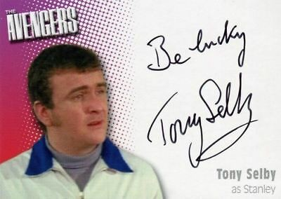 Avengers TV Definitive 2 Tony Selby as Stanley Autograph Card A10