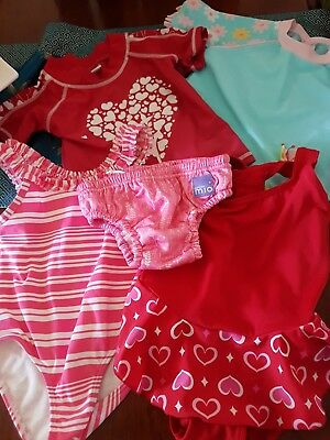 Baby girls bathers sz 1
